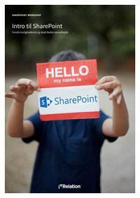 SharePoint Workshop  – In general